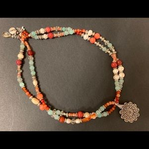 Vacationing on The Riviera Necklace & Earrings